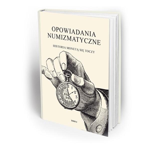 """Okładka książki """"Opowiadania Numizmatyczne"""""""